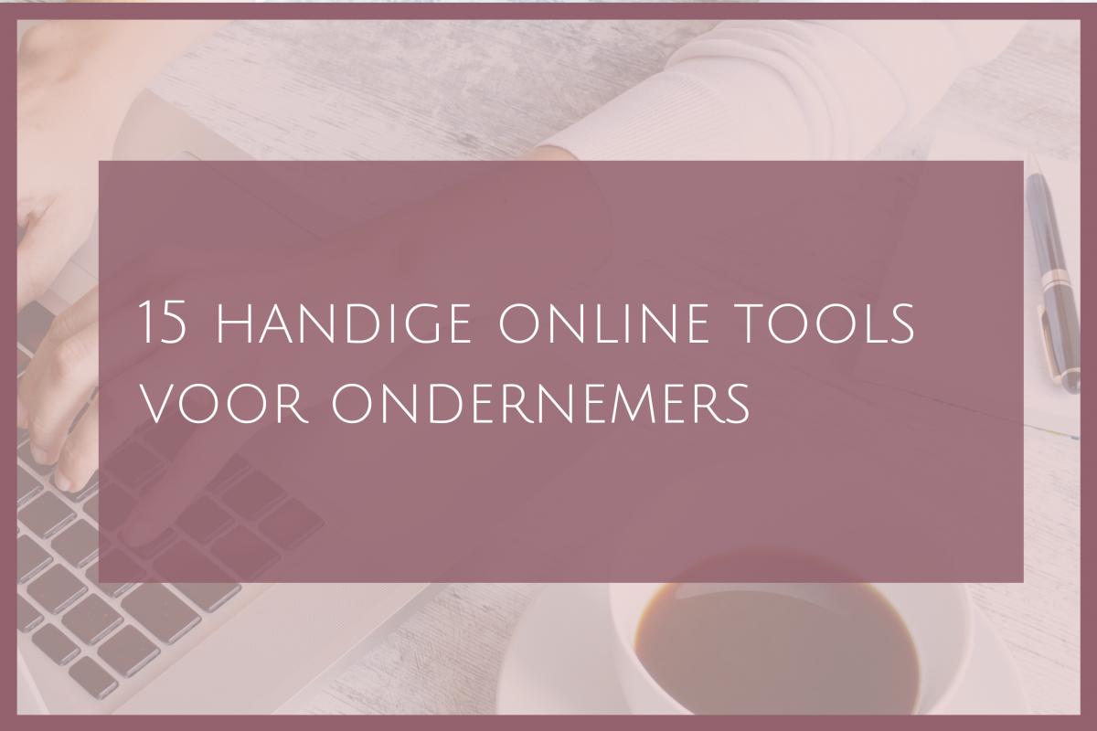 Handige online tools, gratis voor ondernemers